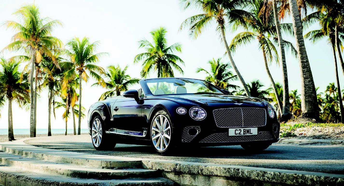 Bentley : Nouvelles Continent GT V8 et GT V8 convertibles
