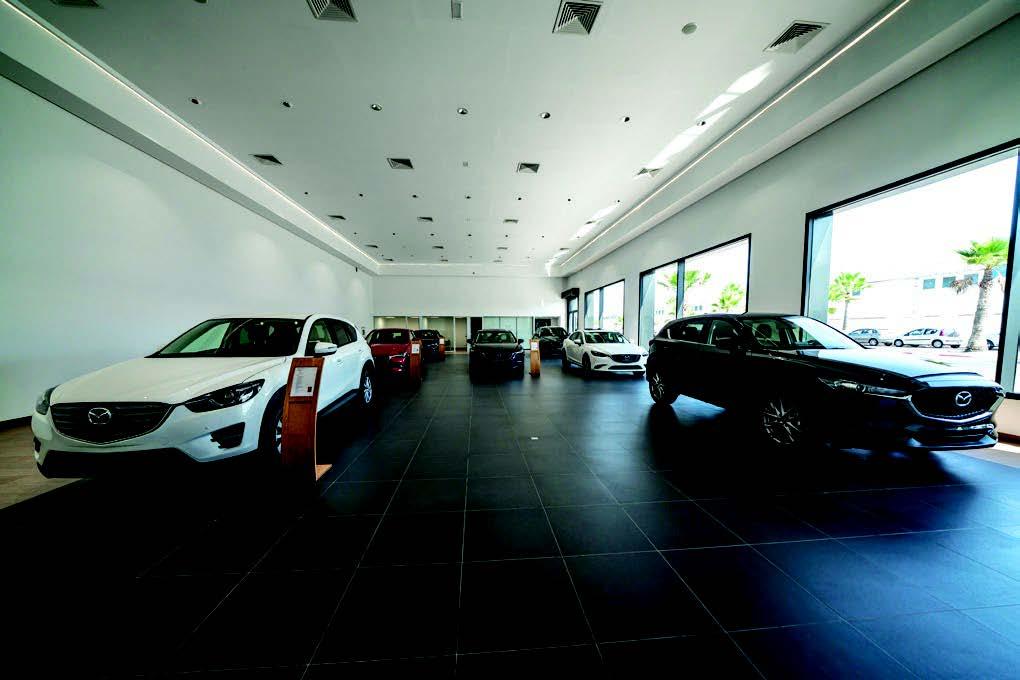 Un nouveau showroom pour Mazda