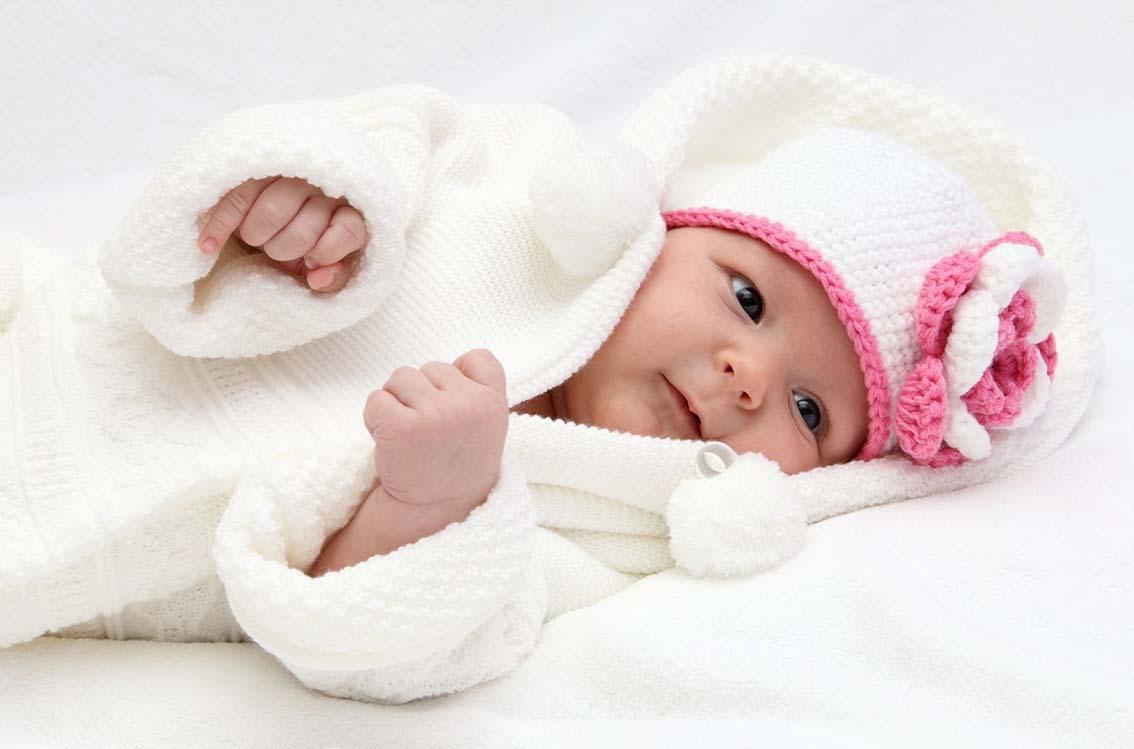 On protège la peau de bébé du froid!