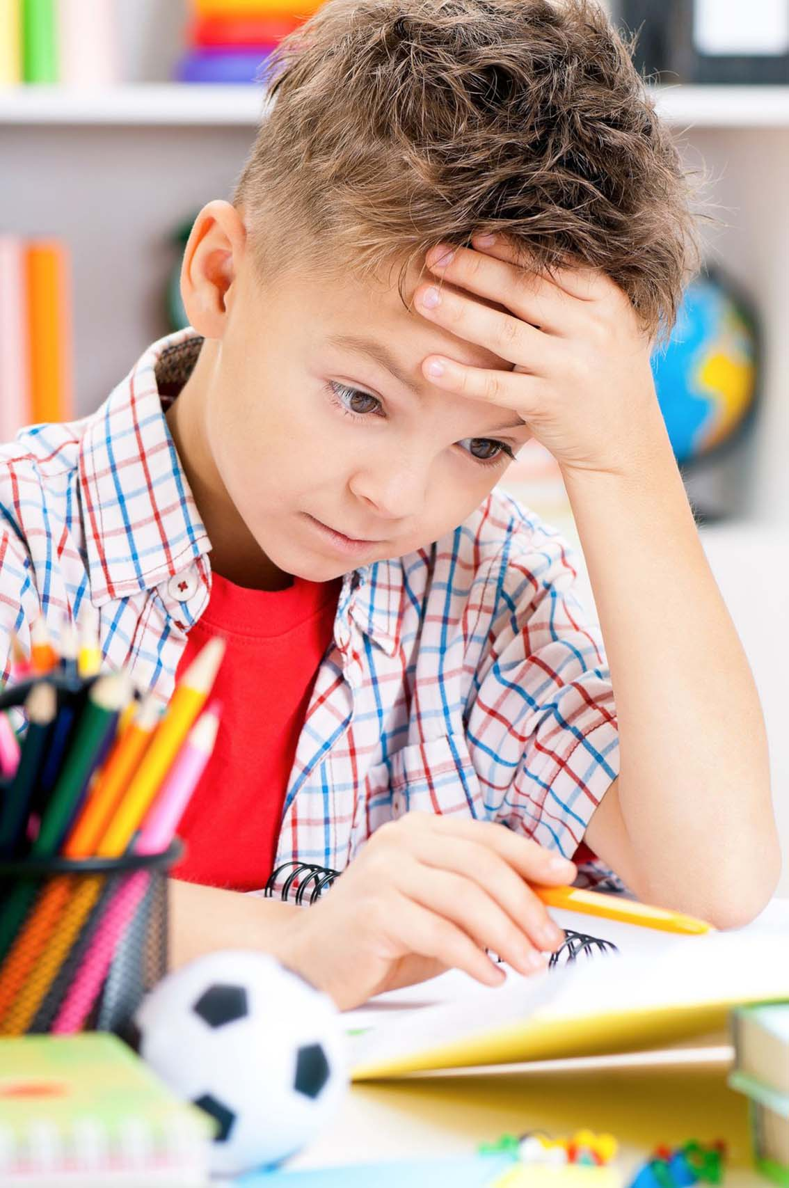 Stress associé à l'école  Réagir vite et bien
