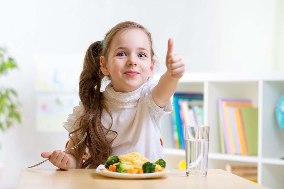 Une bonne  alimentation : on commence  tout petit!