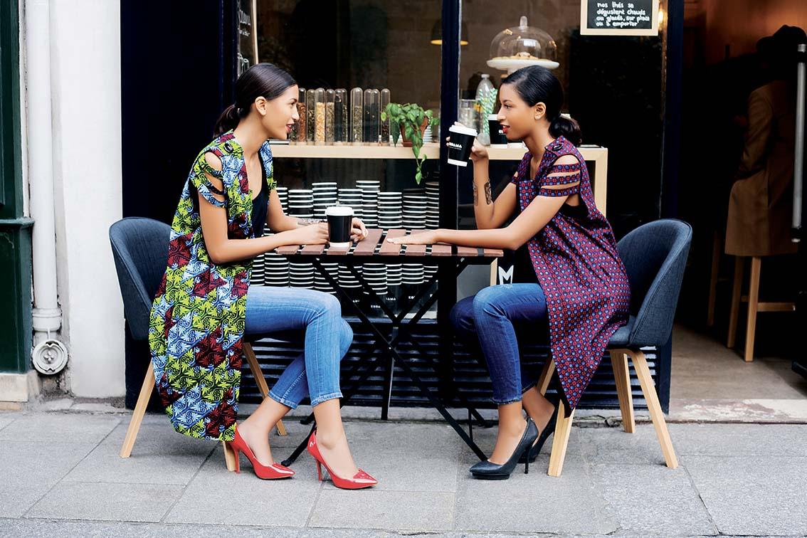 Natacha Baco, une ligne entre couleurs africaines et chic parisien