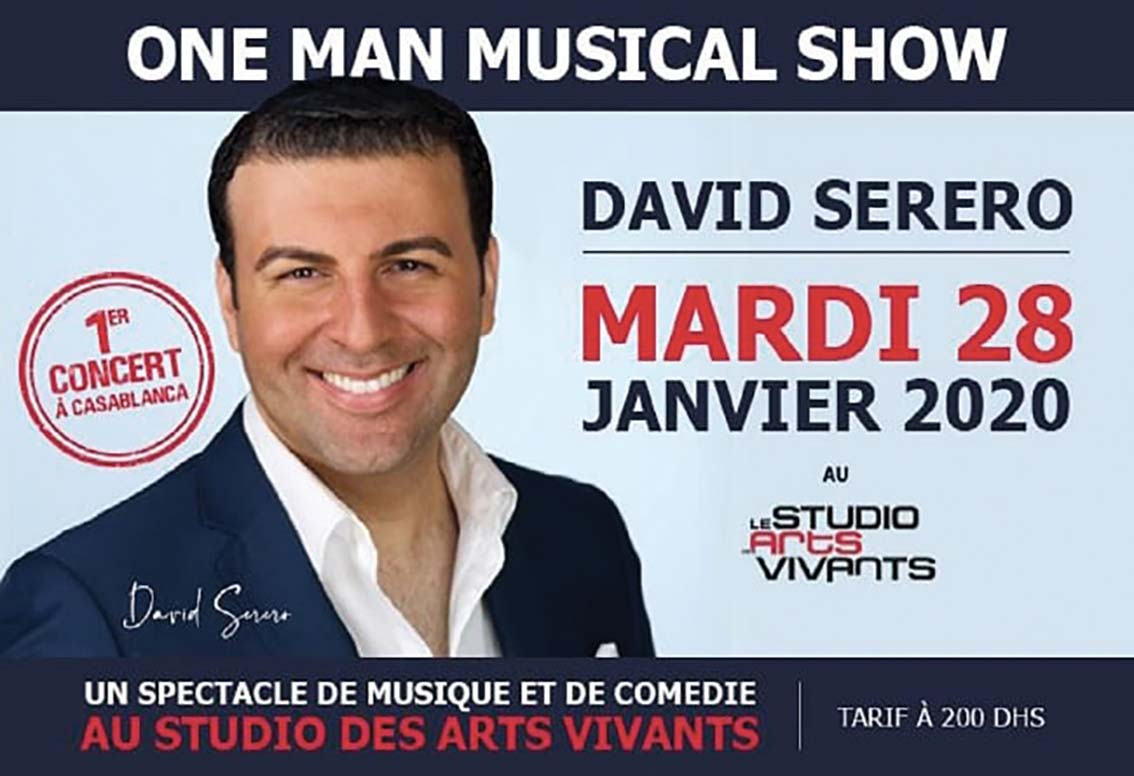 One Man Musical Show David Serero