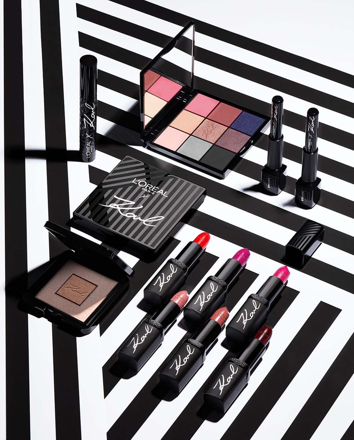 Lagerfeld x L'Oréal Paris: un héritage parisien sublimé