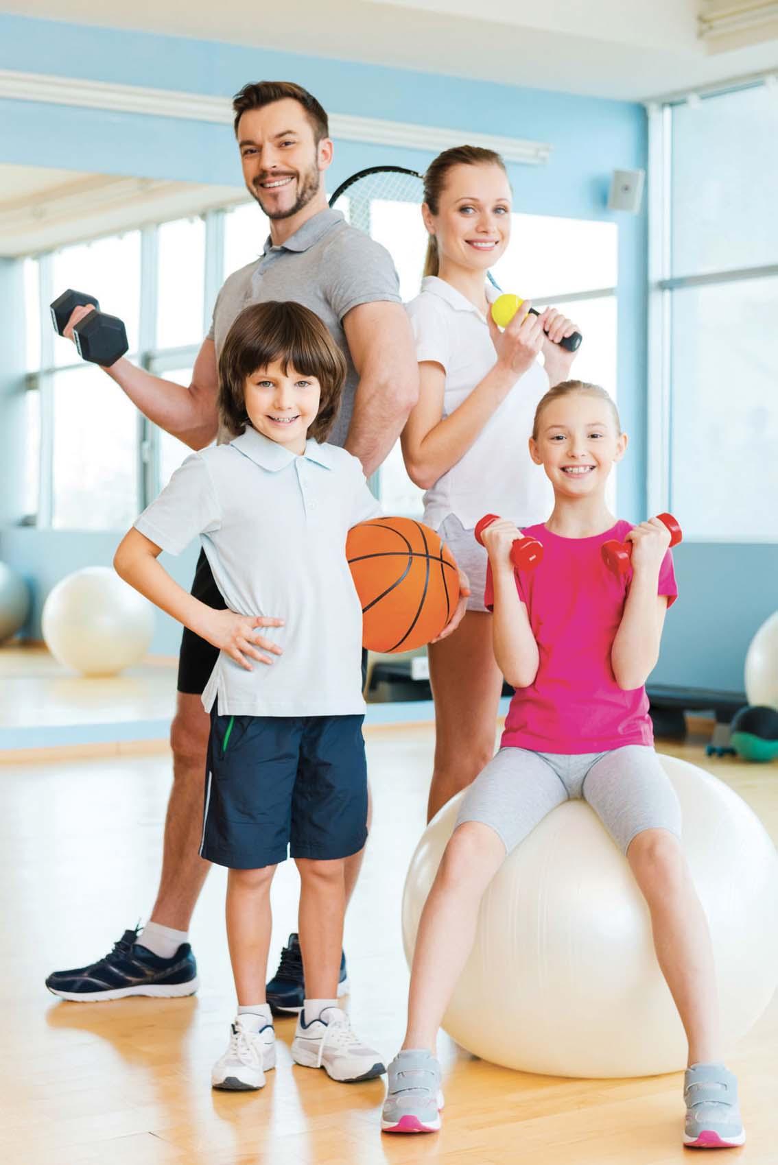 En 2020, c'est décidé, on se met au sport en famille!