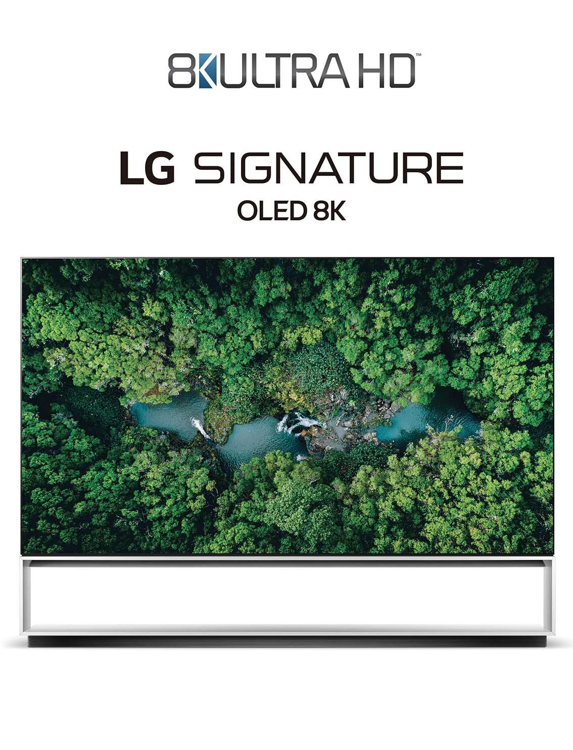 LG en mode 8K