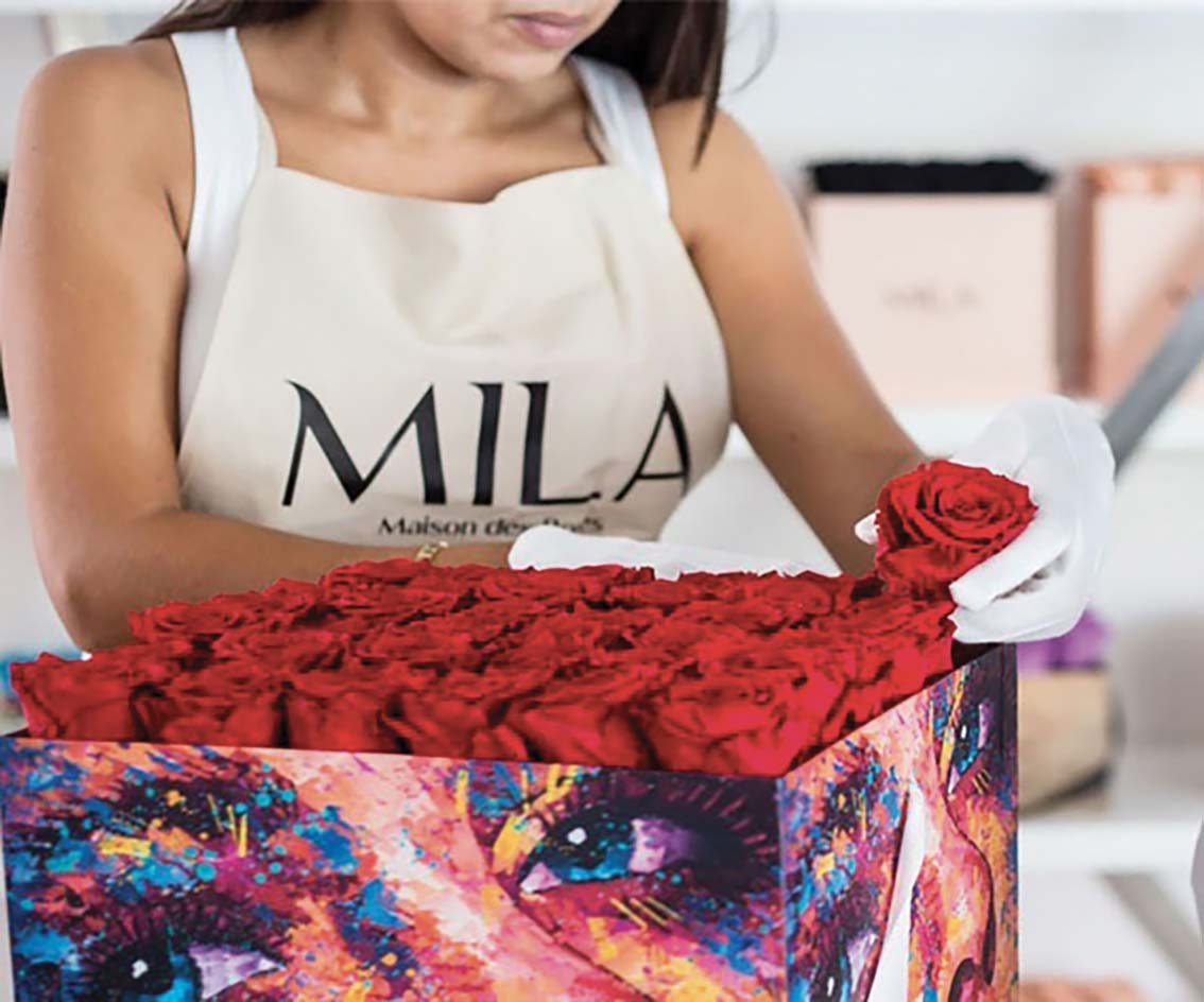 MILA, la maison des Roses Eternelles