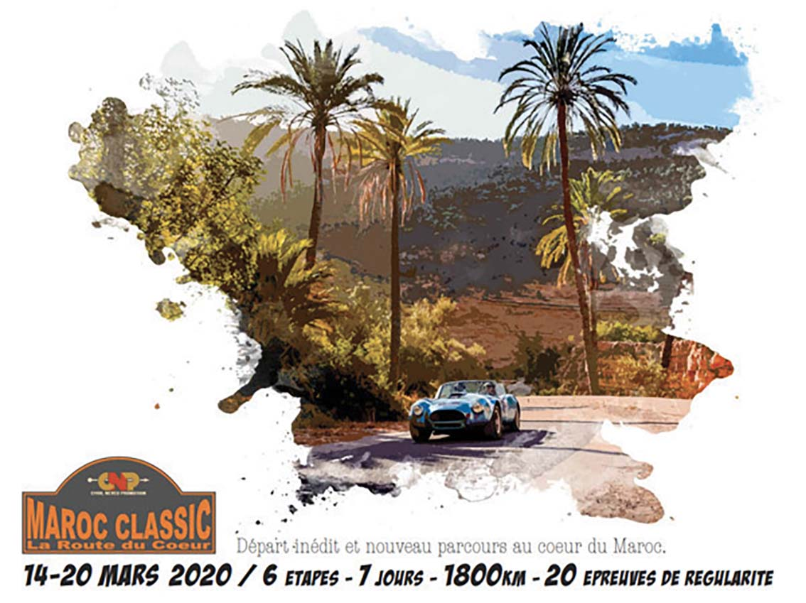 Rallye Maroc  Classique  La Route  du Coeur