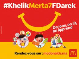 McDonald's Maroc aux cotés des parents et leurs enfants