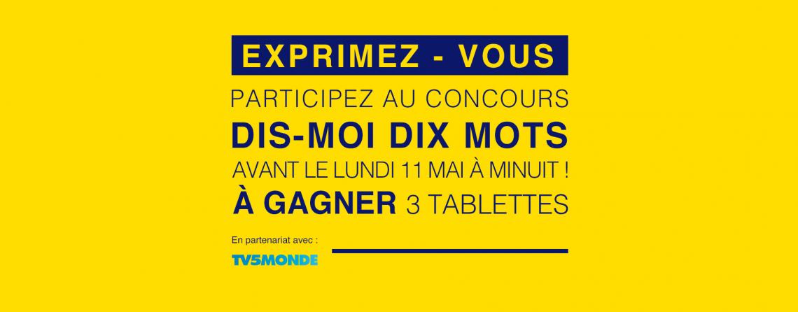 DIS-MOI DIX MOTS DU CONFINEMENT