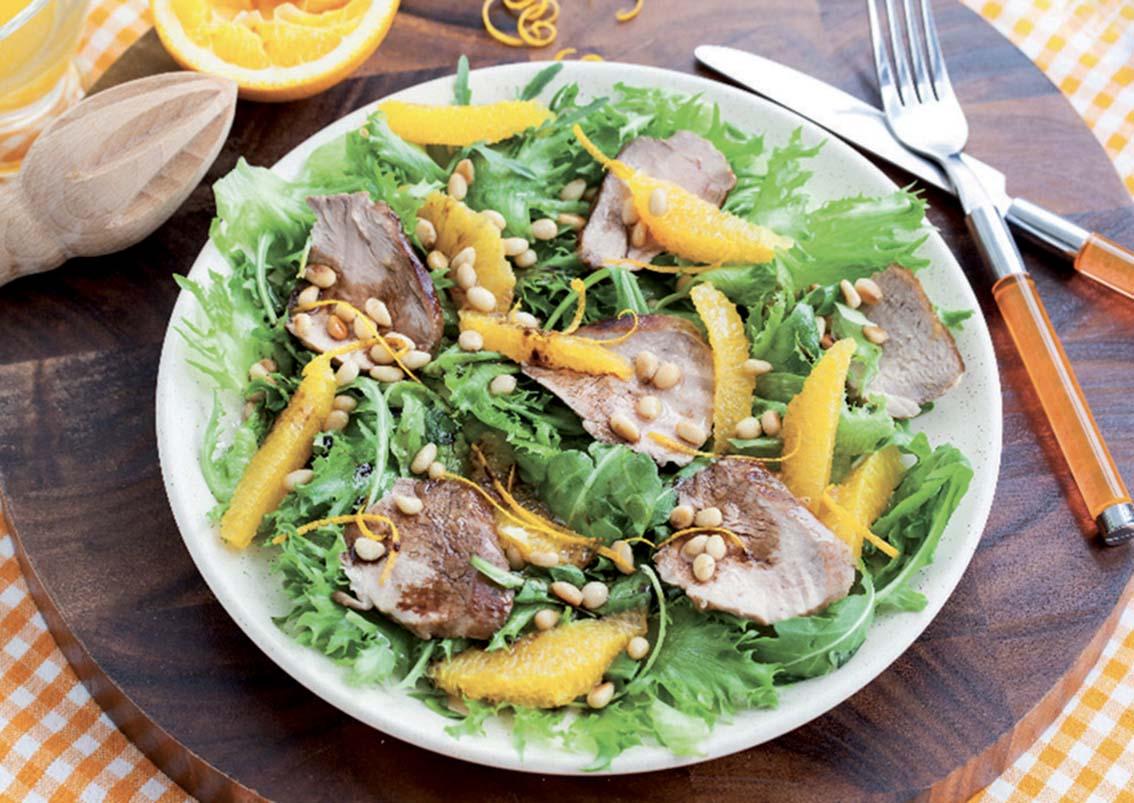 salades composées à déguster tout l'été…