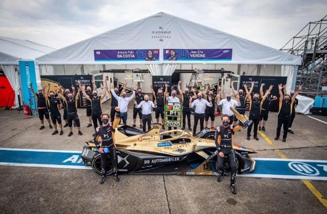 DS Automobiles domine le championnat de Formula E pour la deuxième saison consécutive !