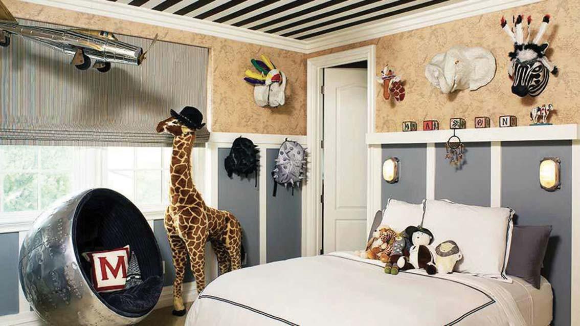 5 chambres tendances pour enfants
