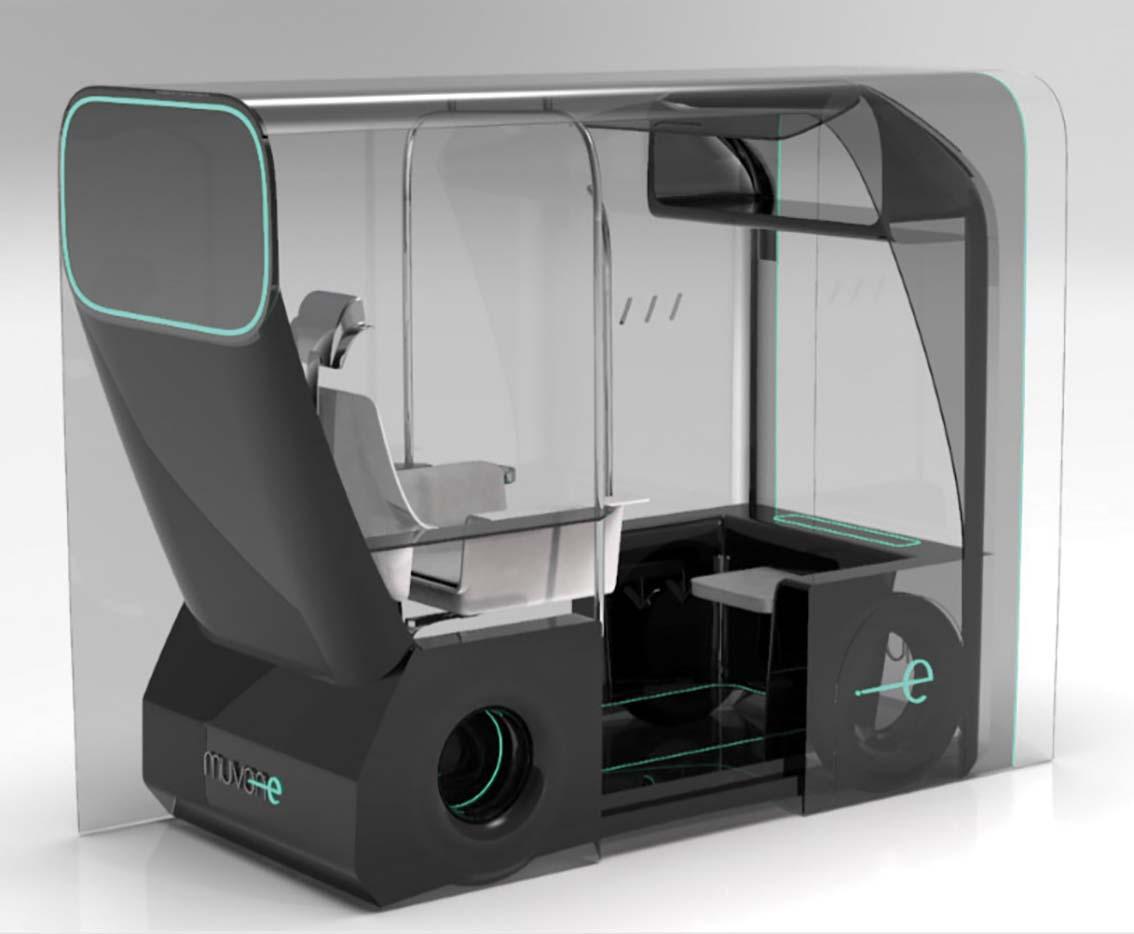 Le concept de taxi autonome remporte le prix Ford «New designers»