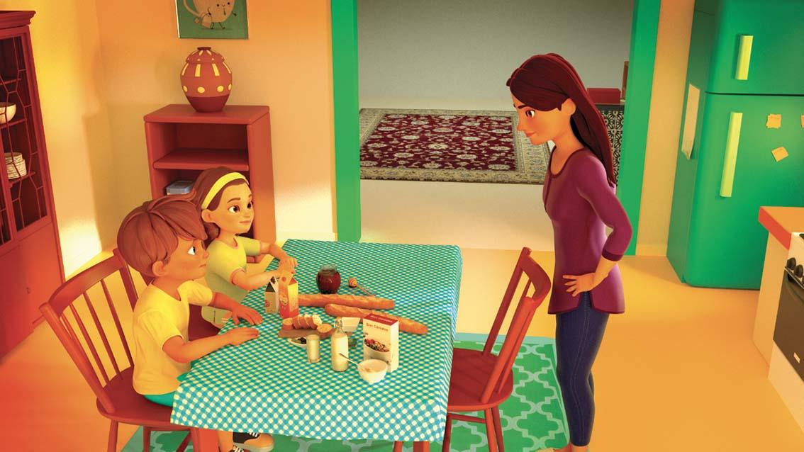 «Lina & Adam» : la nouvelle série animée 3D