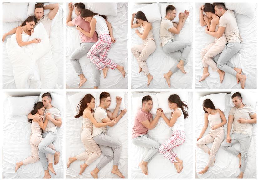 Voici ce que révèle votre façon de dormir en couple