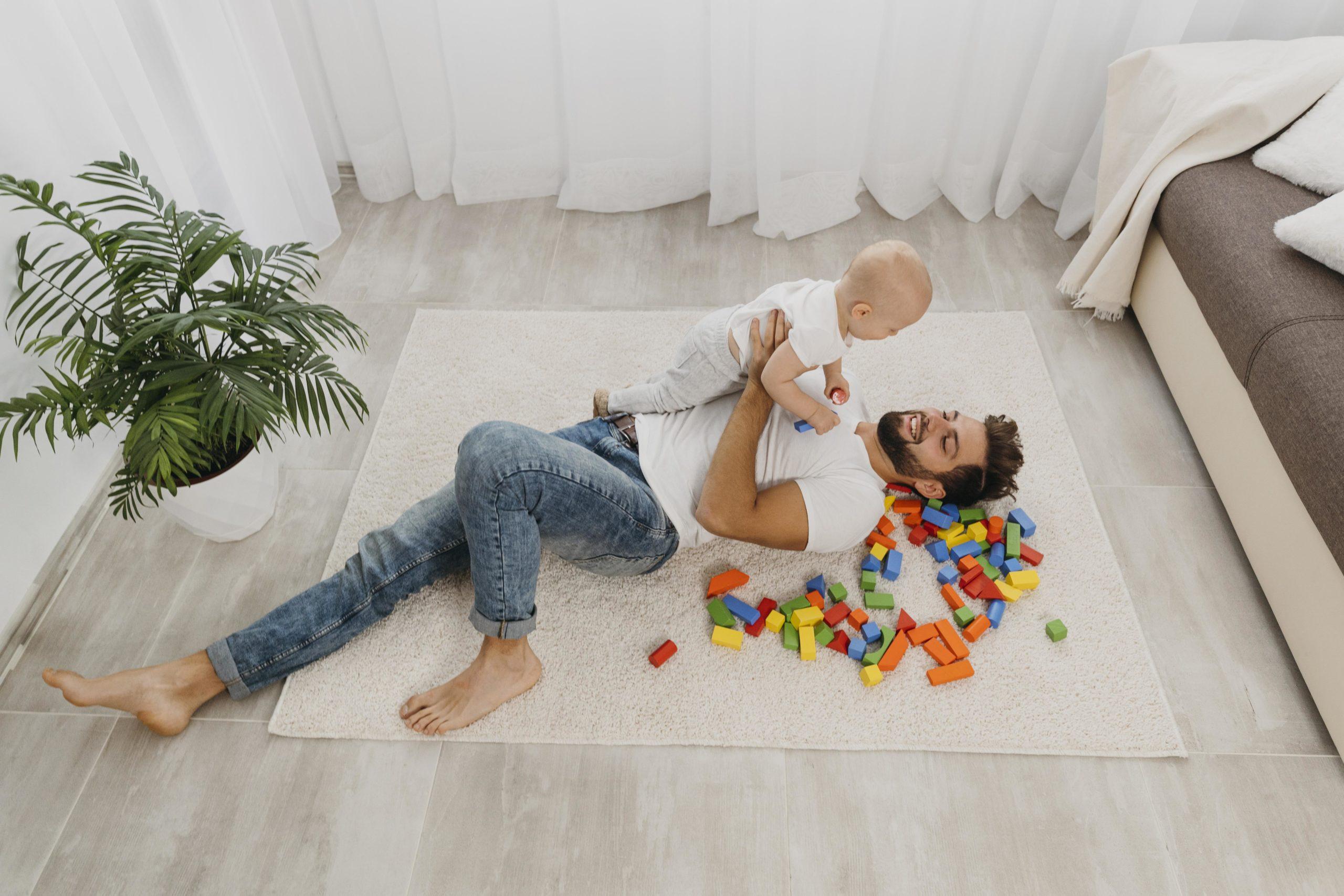 Papa jaloux de bébé, que faire?